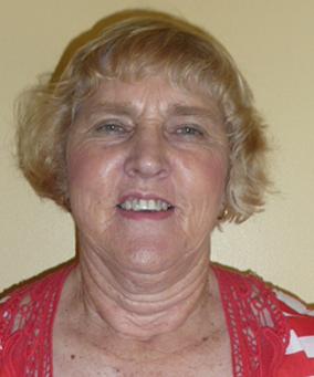 President - Kay Woolcock