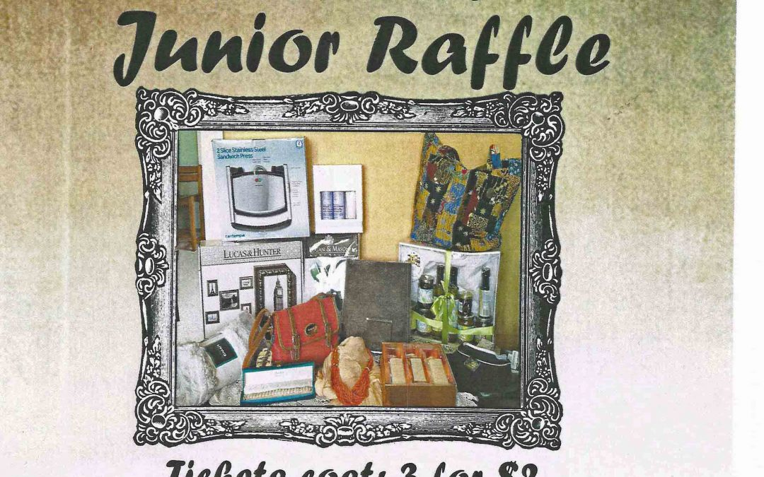 Junior Raffle 2018